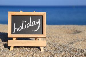 menikmati liburan