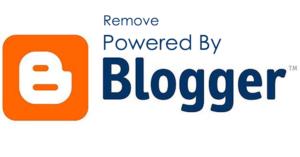 cara menghilangkan diberdayakan oleh blogger