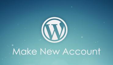 cara membuat akun wordpress