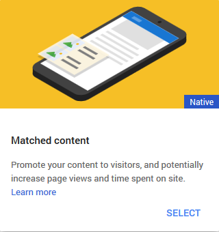 adsense matched content