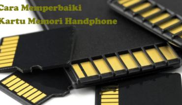 cara memperbaiki memory card