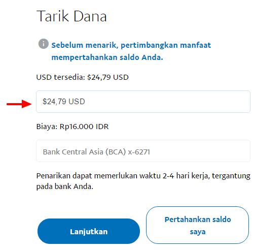 Cara Menarik Uang Dari Paypal Ke Rek Bri Bca Dan Tanpa Kartu Kredit