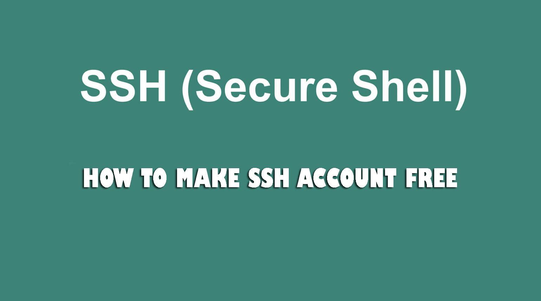 3 Cara Membuat Akun SSH Gratis 1 Bulan Dan Selamanya Full Speed