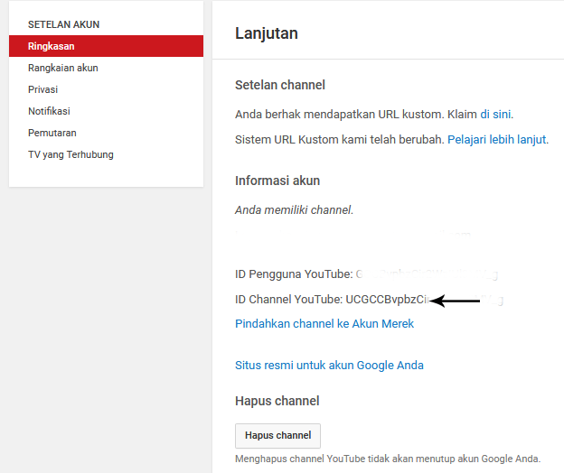 id channel youtube cara menambah subscriber youtube