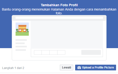 upload profil facebook