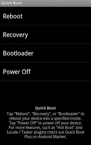 quick boot apk