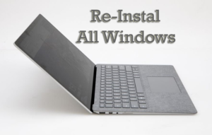 cara instal ulang laptop dengan flashdisk