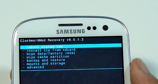 cara masuk recovery mode samsung