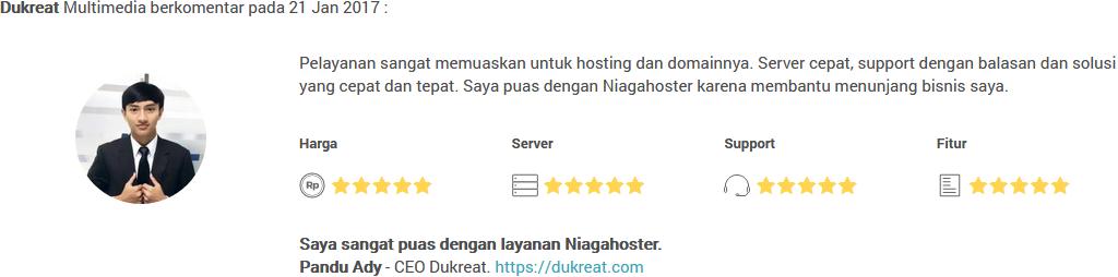 respon niagahister