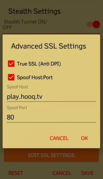 edit ssl setting