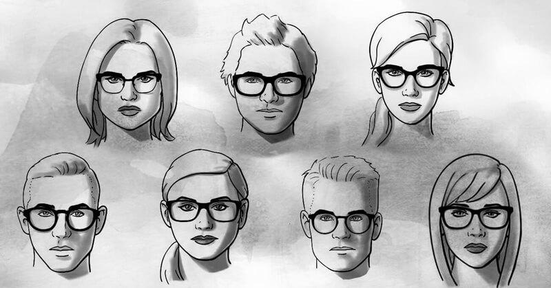 pilihan frame kacamata optik tunggal