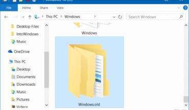 cara menghapus windows old di windows 10