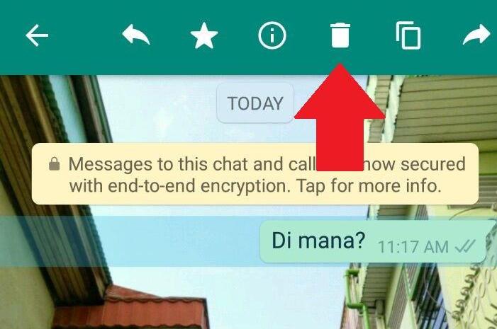 whatsapp delete icon