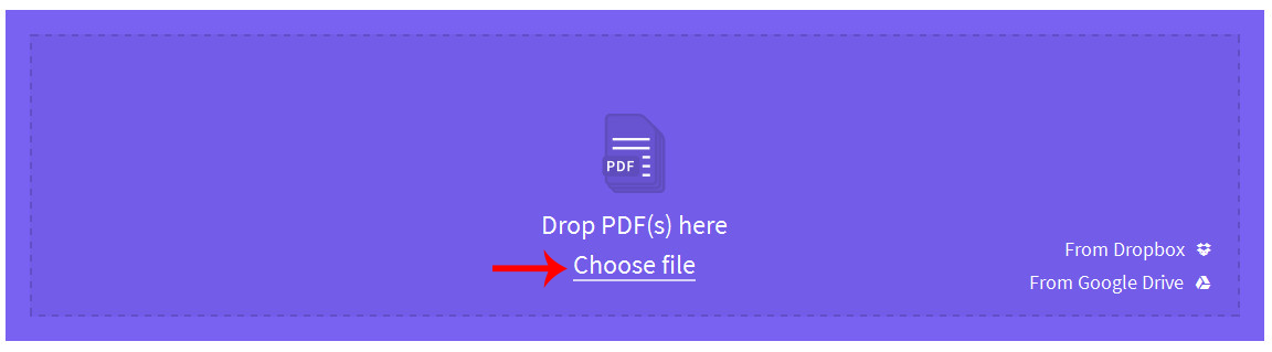 smallpdf merge upload