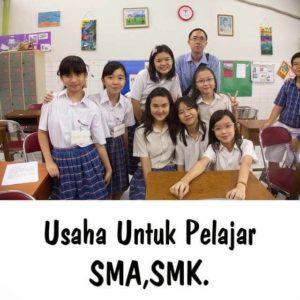 bisnis untuk pelajar tanpa modal