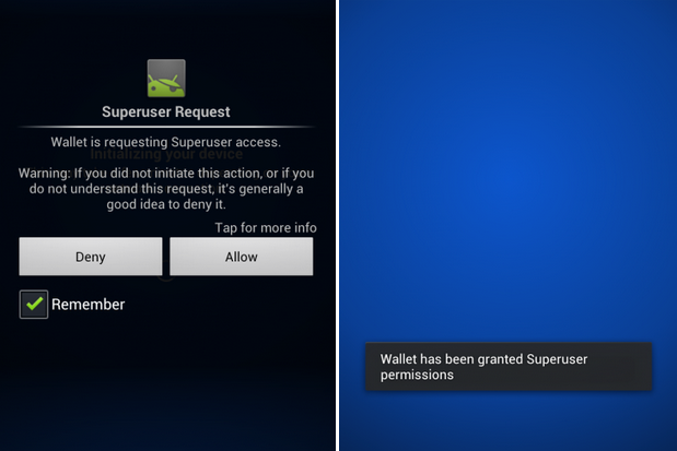 superuser permission rooted