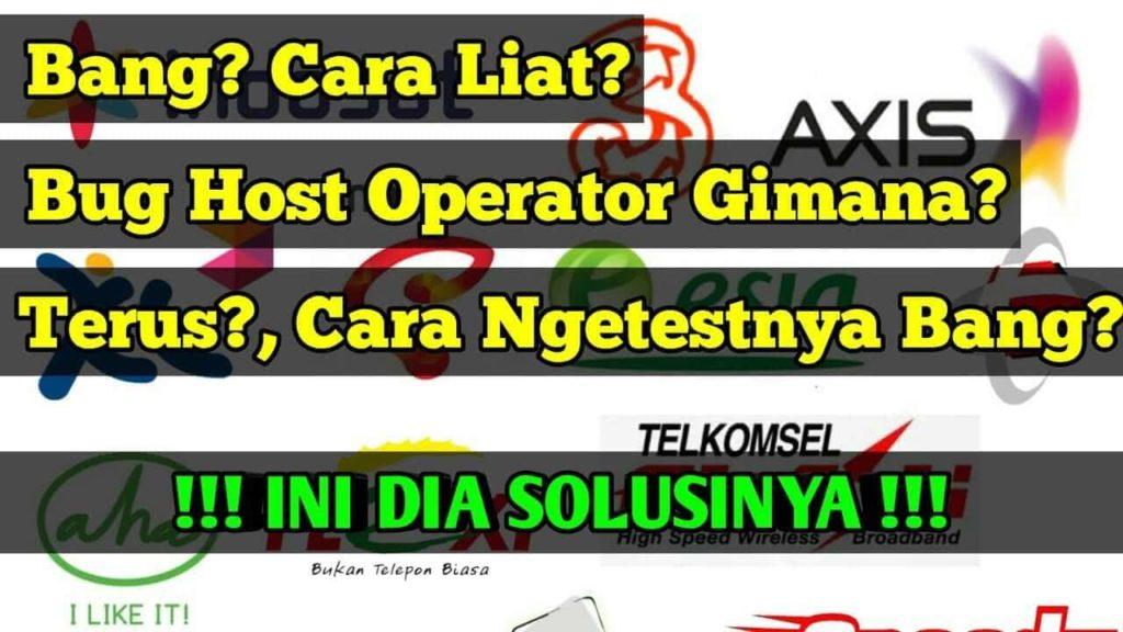 cara mencari bug operator