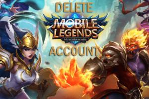 cara menghapus akun mobile legend di android