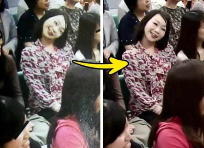 foto wanita leher patah