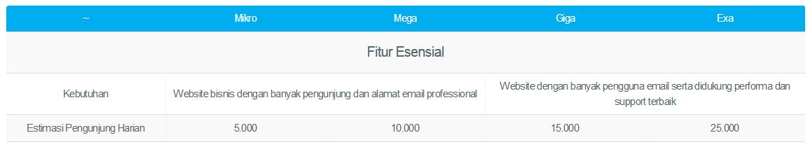 hosting bisnis domainesia