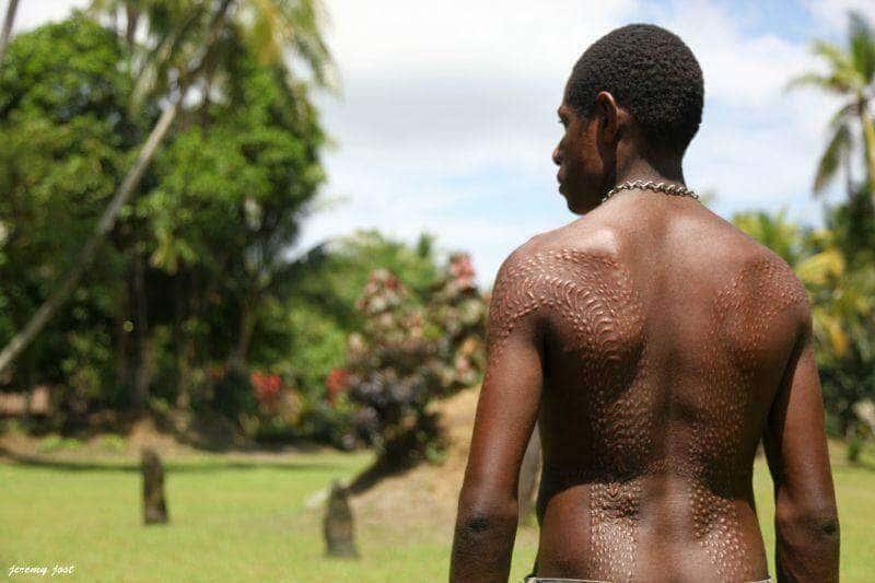 ritual crocodile scars