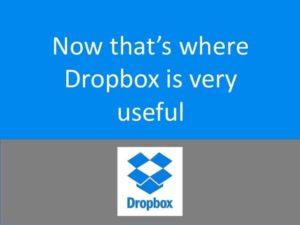 cara mengirim file lewat dropbox