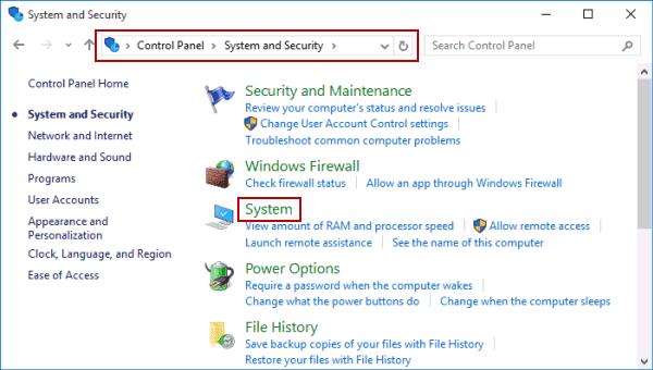 system update windows 10