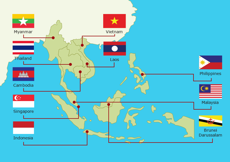 negara terkecil di asia tenggara