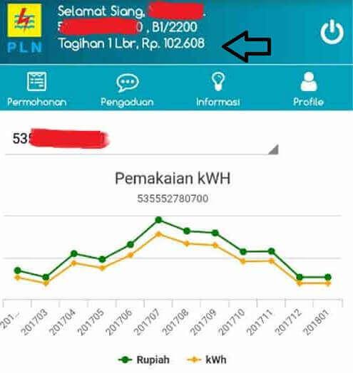 Cek Tagihan Listrik PLN Mobile