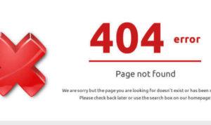 cara mengatasi error 404