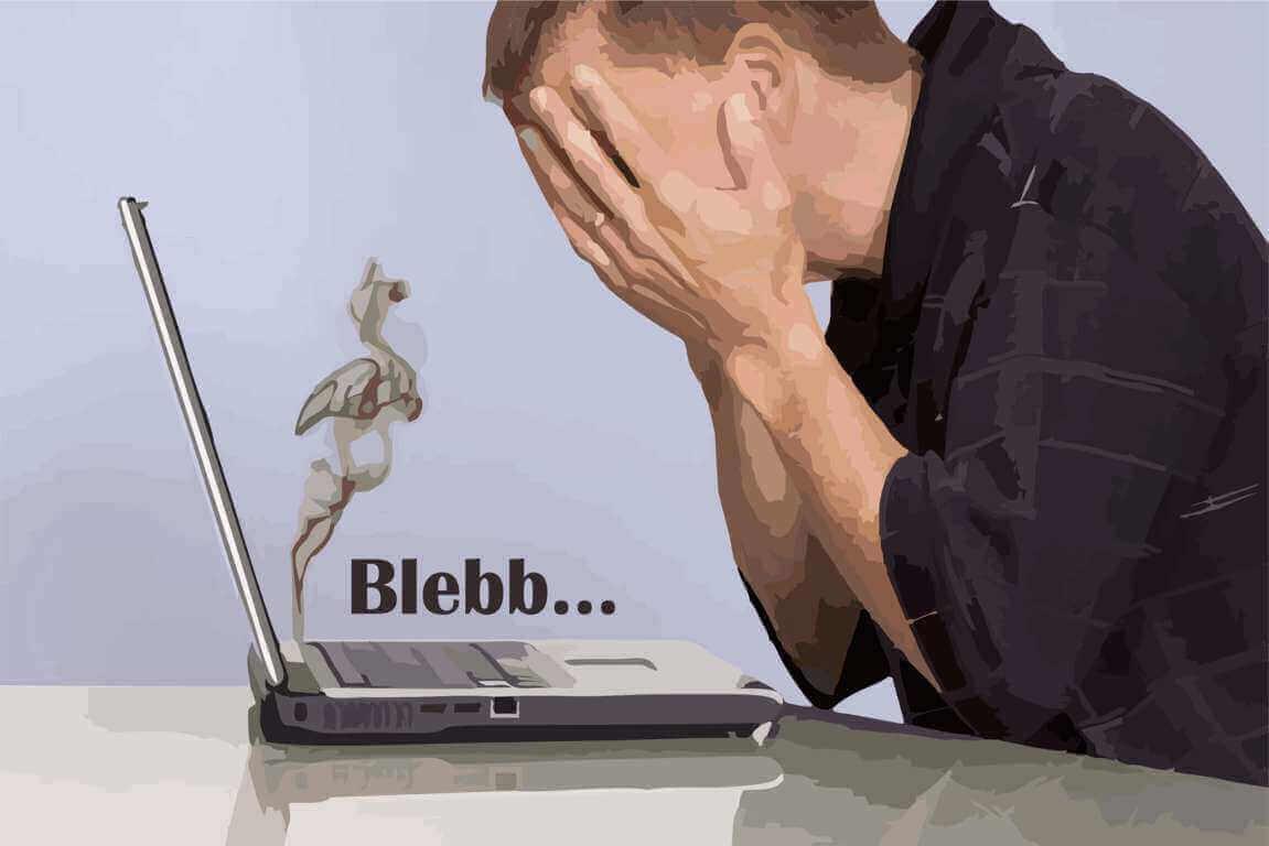 laptop bekerja berat