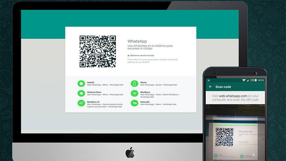 whatsapp web scanning