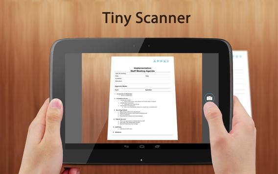 Tiny Scanner PDF Scanner App