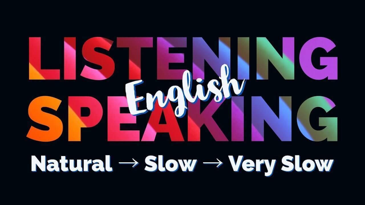 English Listening Speaking