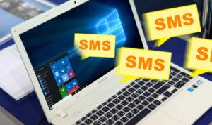 cara mengirim pesan teks menggunakan PC
