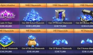 Cara Membeli Diamond Mobile Legend dengan Pulsa
