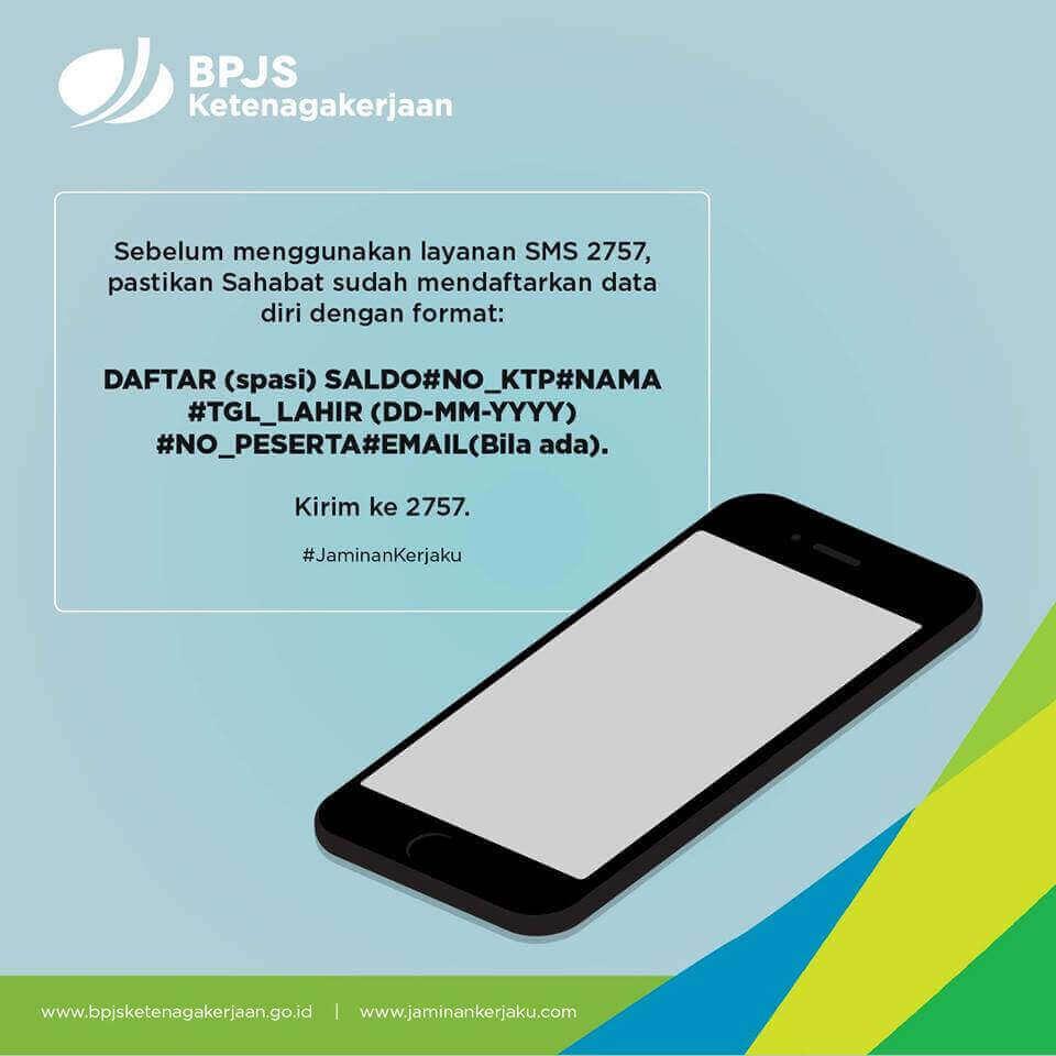 layanan sms bpjs ketenagakerjaan