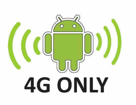 4g only