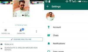Cara Mengganti Foto Profil Whatsapp