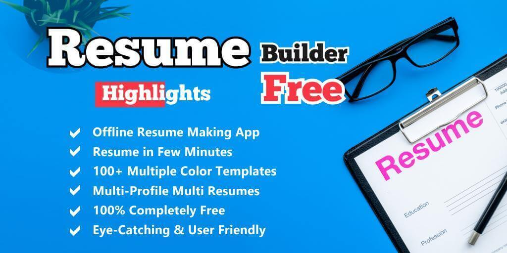 Easy Resume Builder App