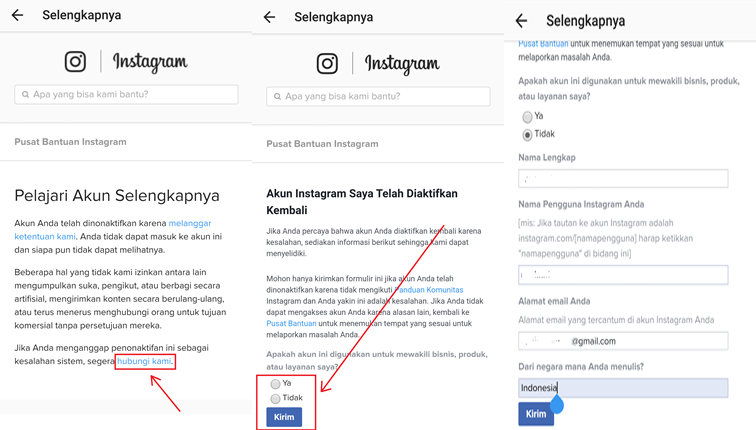 form banding instagram