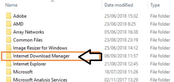idm folder system