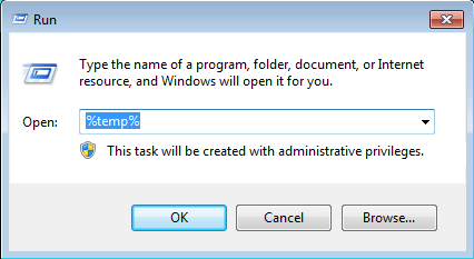 temp directory