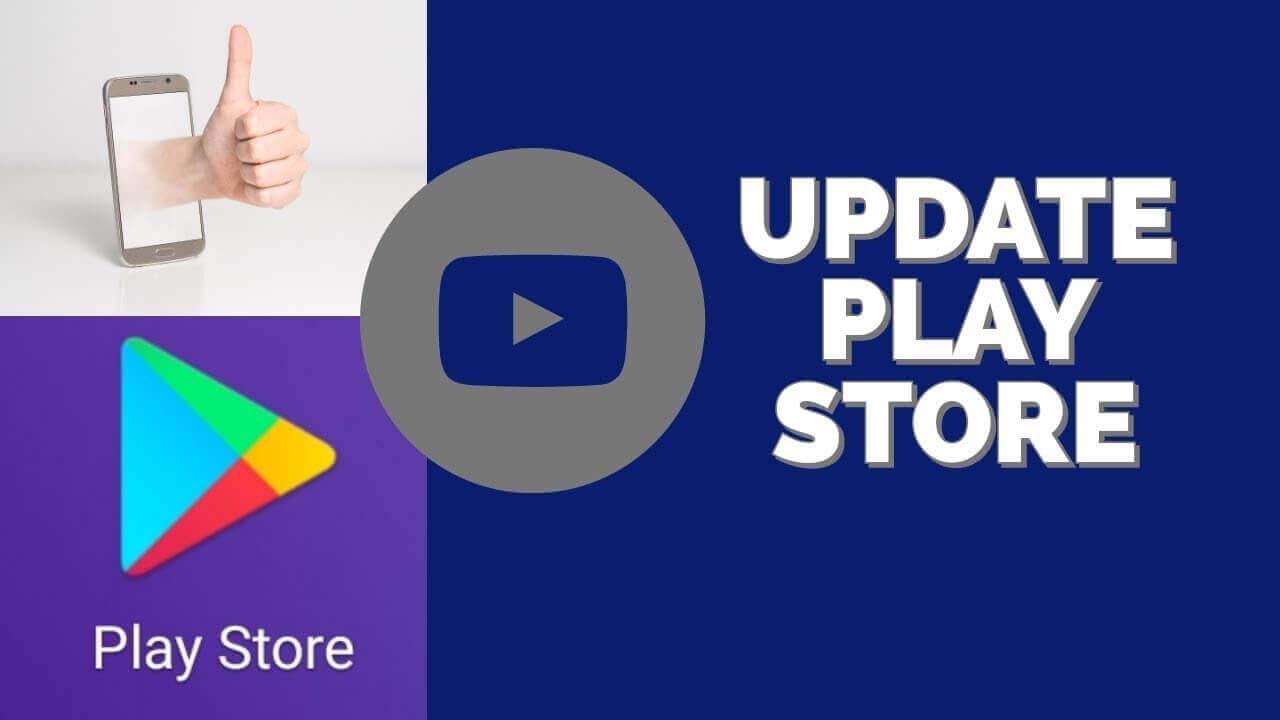 update play store