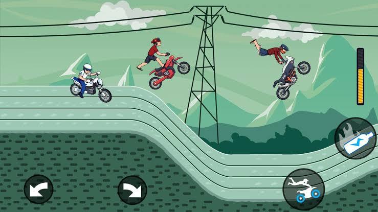 game balap motor terbaik android Mad Moto – Moto Cross Racing