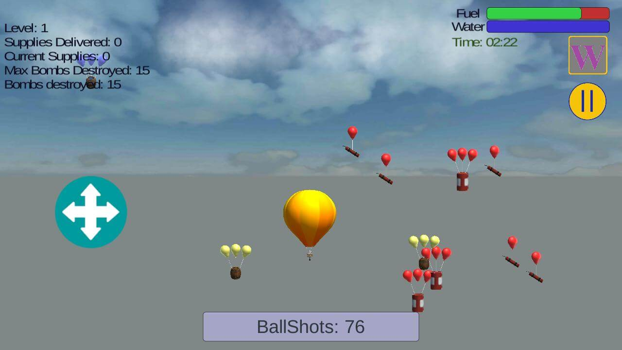 Sky Balloon Missions