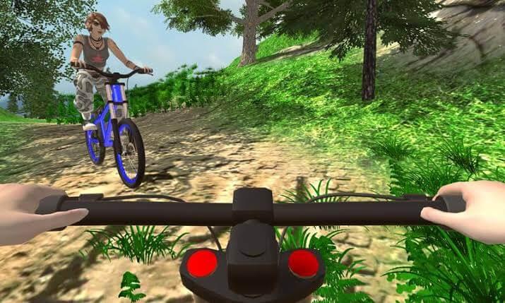 aplikasi game balap sepeda android