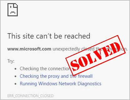cara mengatasi this site can't be reached
