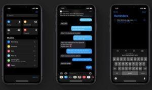 cara mengaktifkan dark mode di iphone