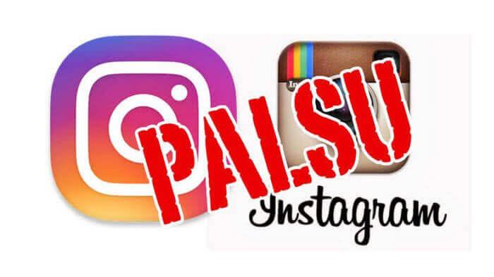 cara melaporkan akun instagram palsu